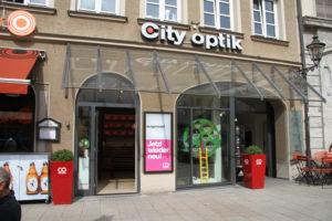 City Optik Augsburg Sicht Maximilianstraße